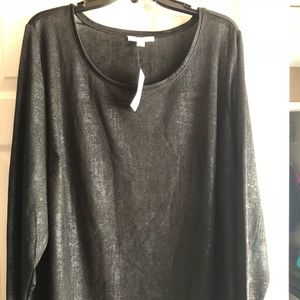 NWT Dress Barn Woman 3X tunic.